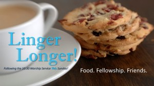 Linger Longer This Sunday